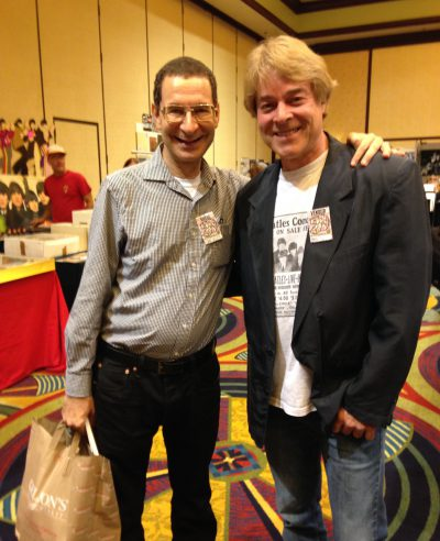 With all-time favorite actor Eddie Deezen at The Los Angeles Fest For Beatles Fans.