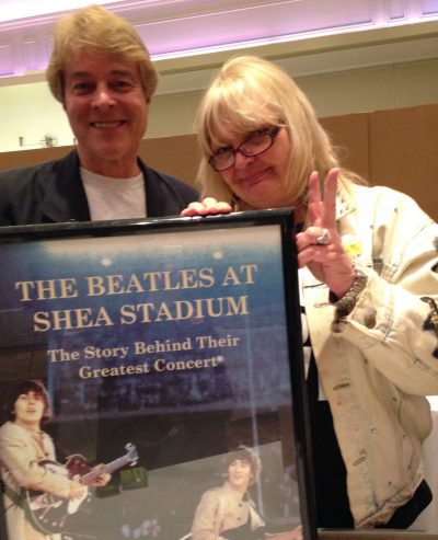 "With Judith Kristen, author of ""A Date With A Beatle"" at The New York Fest For Beatles Fans."