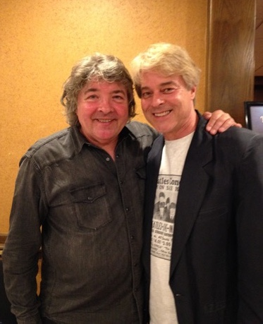 With former Wings drummer Steve Holley. Abbey Road on the River, Louisville, KY.